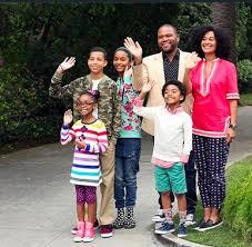 Modern Black familiy
