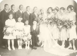 Vintage Black wedding